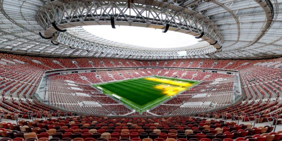 FOTO: Messi y Rusia inauguran el Estadio Luzhniki