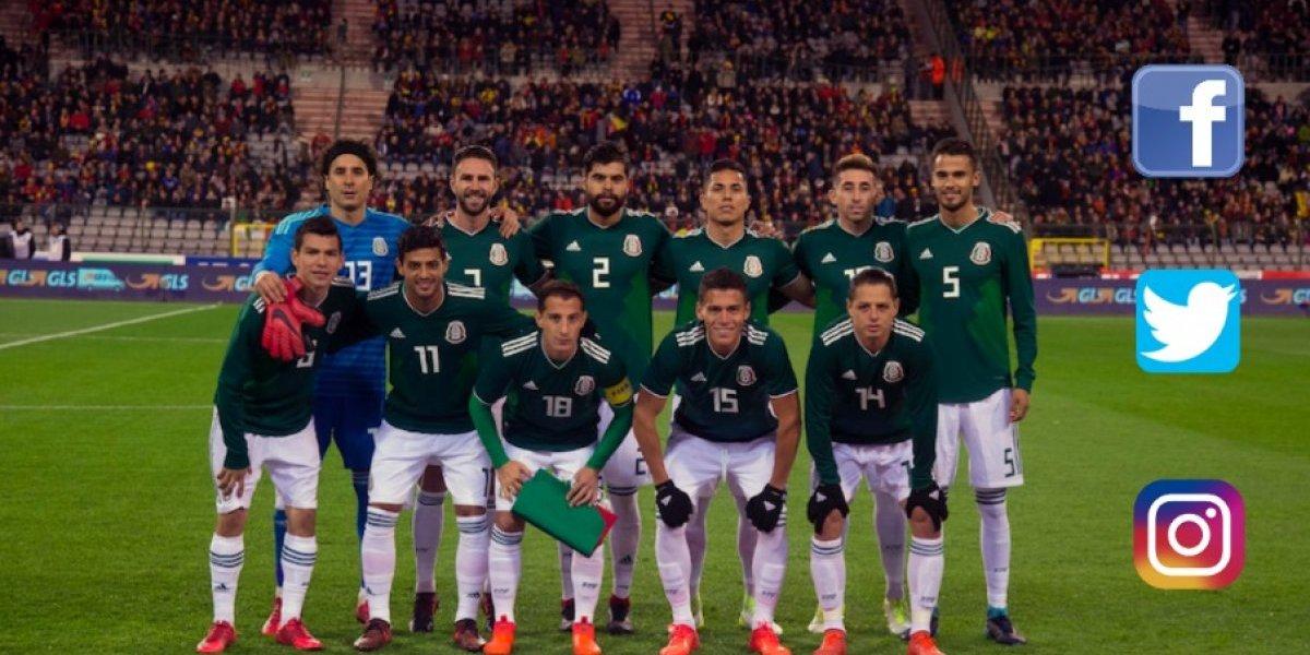 México, la selección con mayor número de seguidores en redes sociales