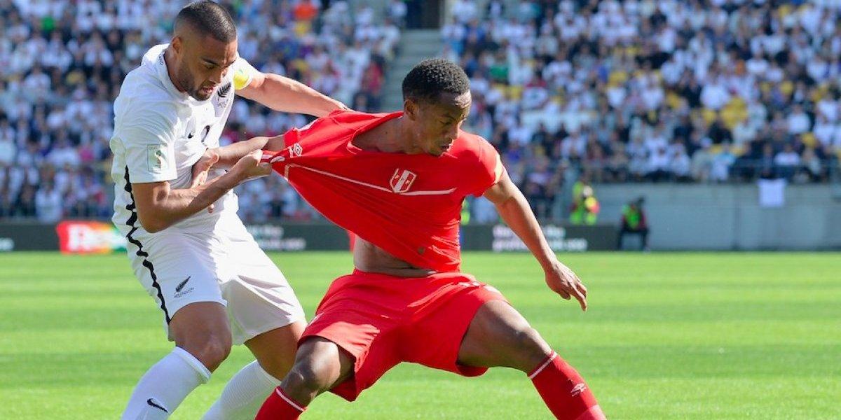 Nueva Zelanda y Perú empatan sin goles en primer partido de repesca