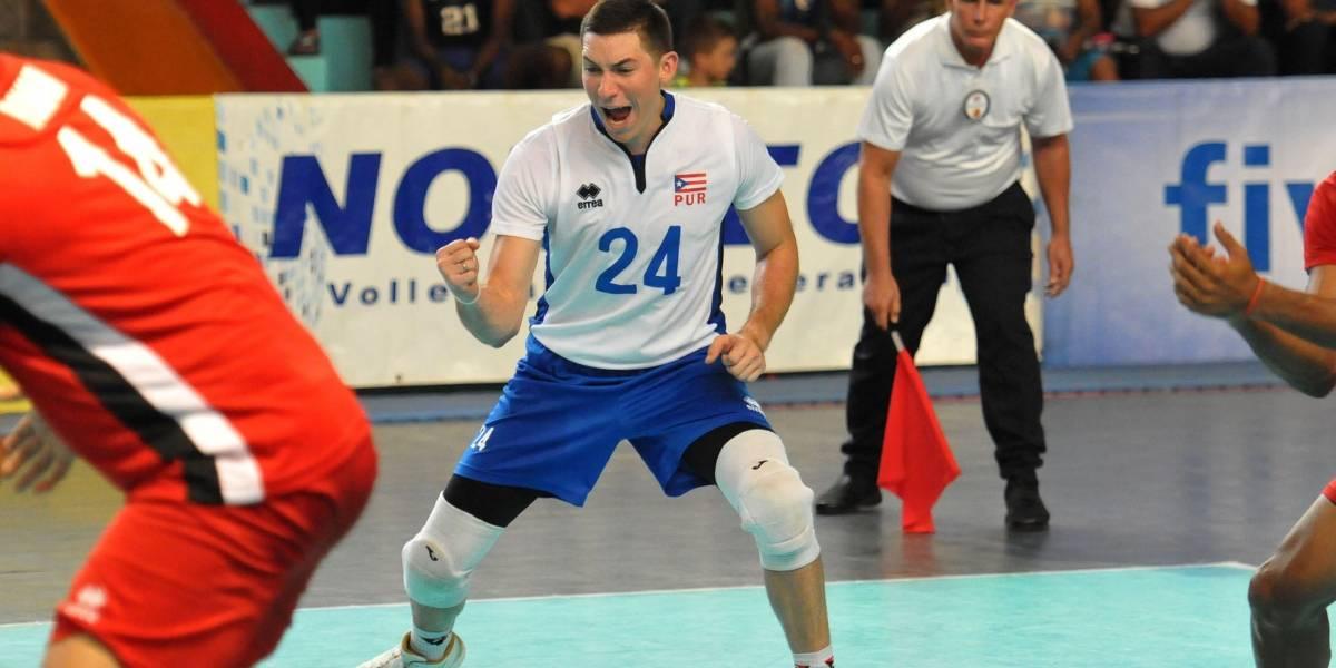 Puerto Rico vence a México y se posiciona a una victoria del mundial de voleibol