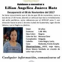 Lilián Juárez desaparecida