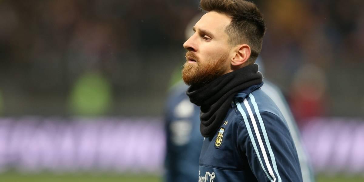 Lionel Messi abandonó concentración de Argentina