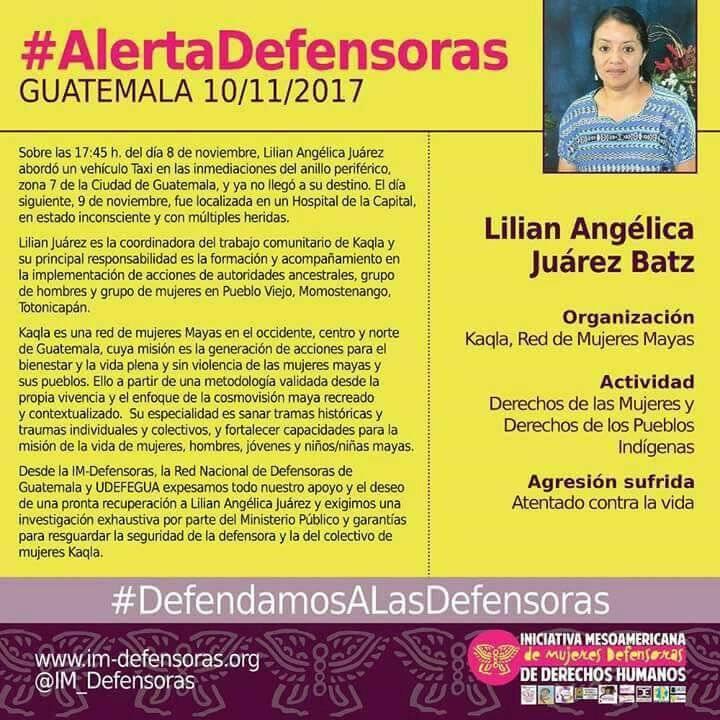 Localizan a Lilian Juárez