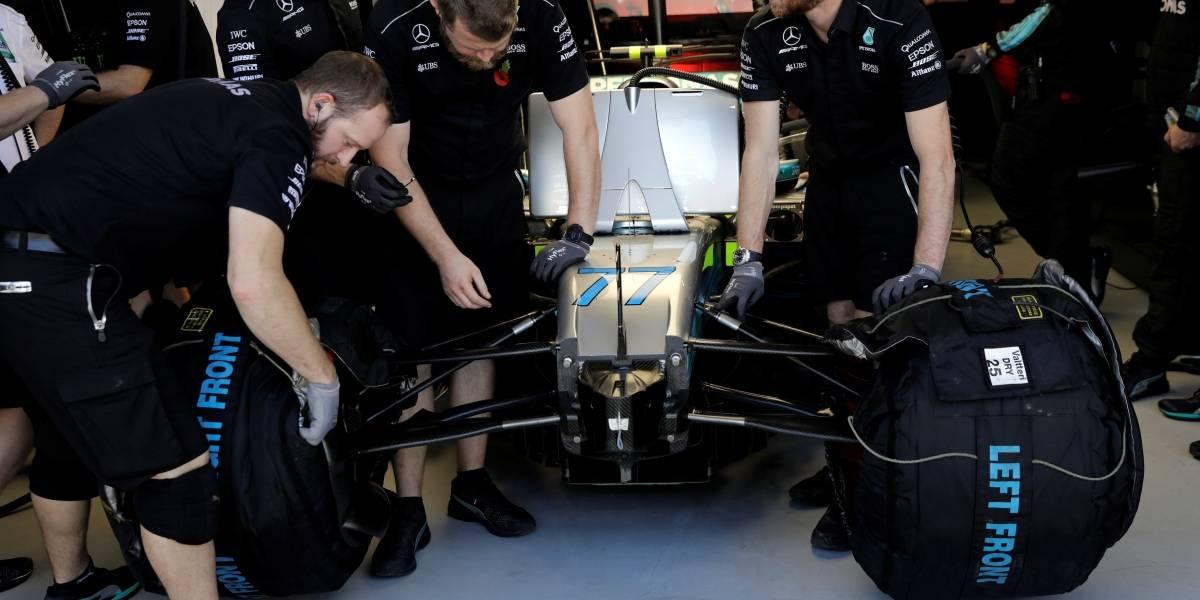 Jaguar e Minardi já tiveram equipamentos roubados durante o GP do Brasil