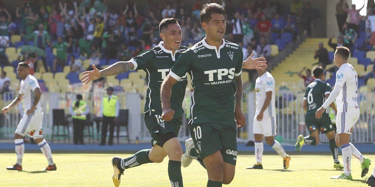 """Enzo Gutiérrez, el héroe de Wanderers que hundió a su ex equipo: """"Lo merecíamos, hicimos un gran esfuerzo"""""""