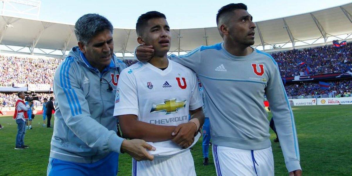 Perdió más que la final: Guerra estará fuera el resto del torneo por lesión y Pinilla hace sufrir a Hoyos