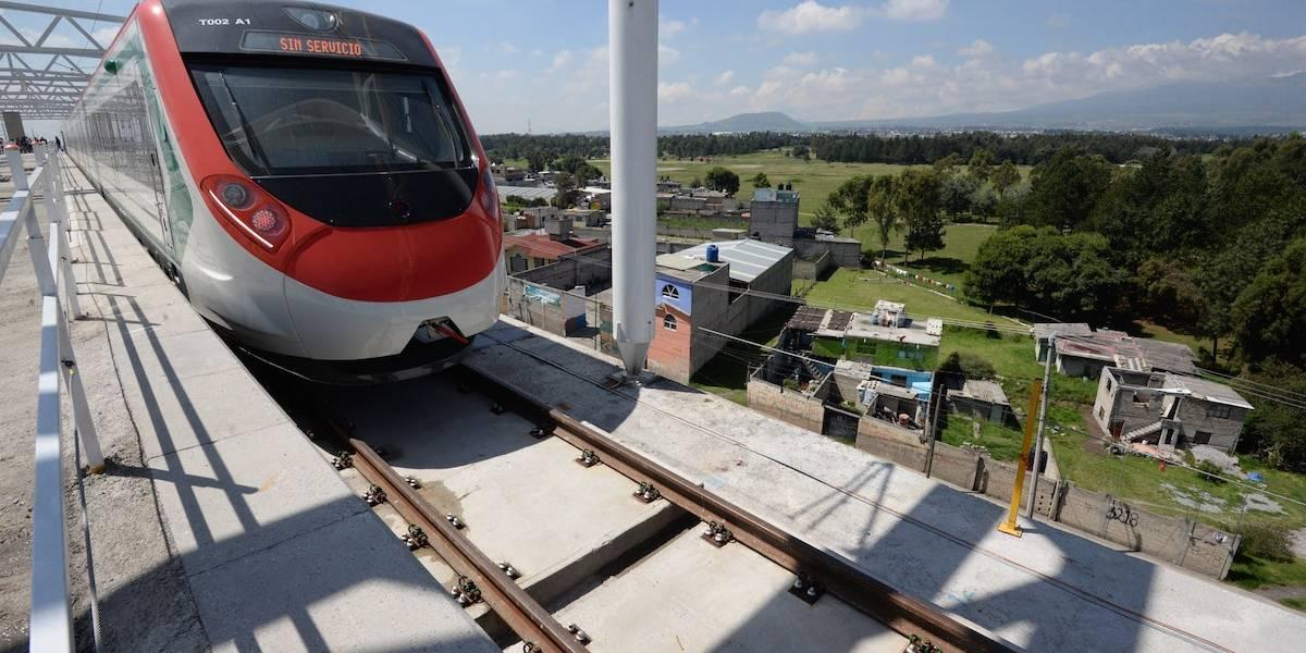 Tren Interurbano México-Toluca estará listo en julio de 2018: SCT