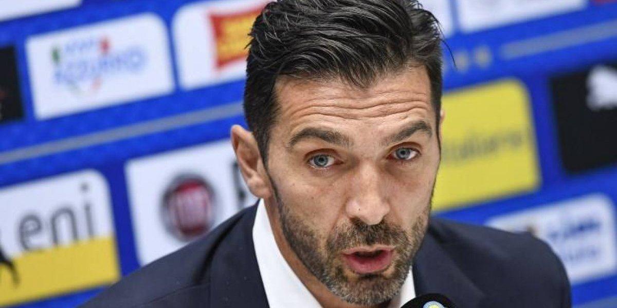 """Buffon apunta a los hinchas italianos: """"Que nos apoyen y que no tengan una actitud tan negativa"""""""