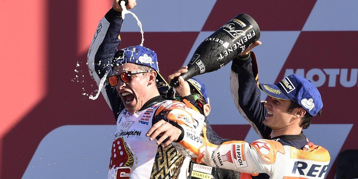 Marc Márquez se corona campeón por cuarta vez del mundial de MotoGP