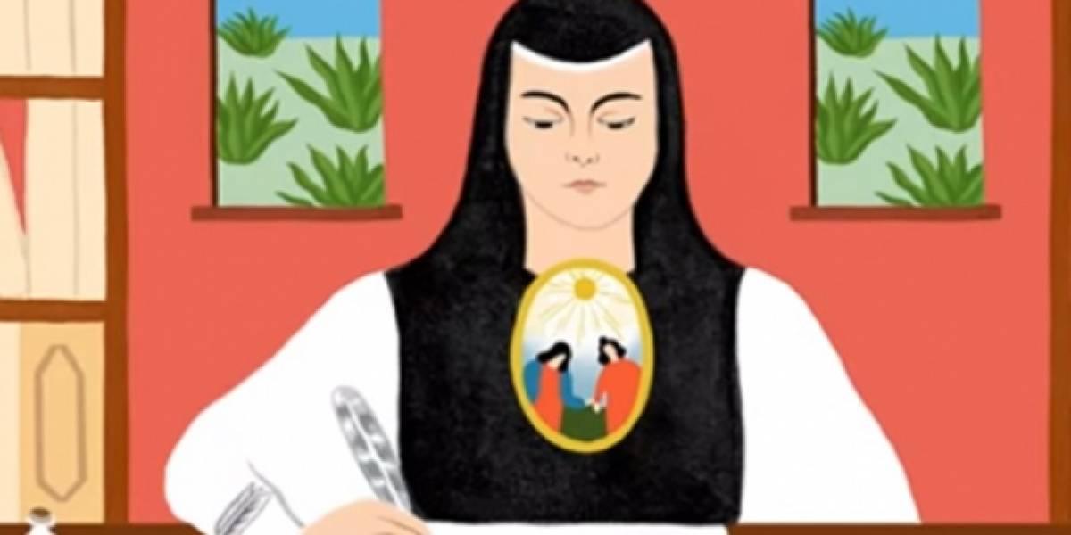 Google conmemora natalicio 366 de Sor Juana Inés de la Cruz