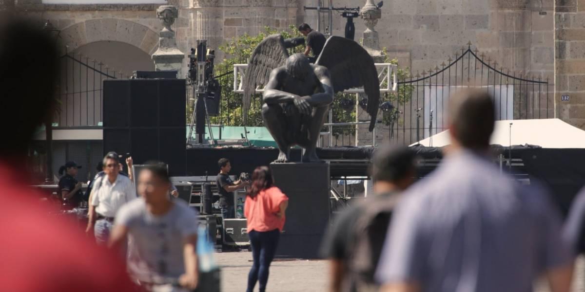 Defienden esculturas en Zapopan, niegan sean satánicas
