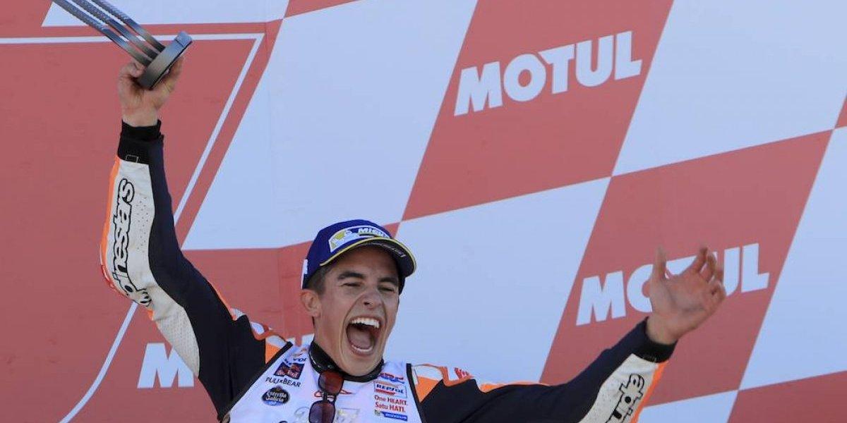 Marc Márquez se proclama tetracampeón de MotoGP