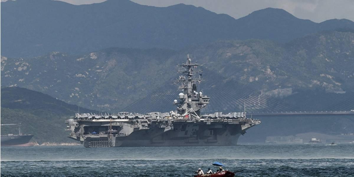 Corea del Sur y EE.UU. realizan maniobras a gran escala con presencia de 3 portaviones nucleares