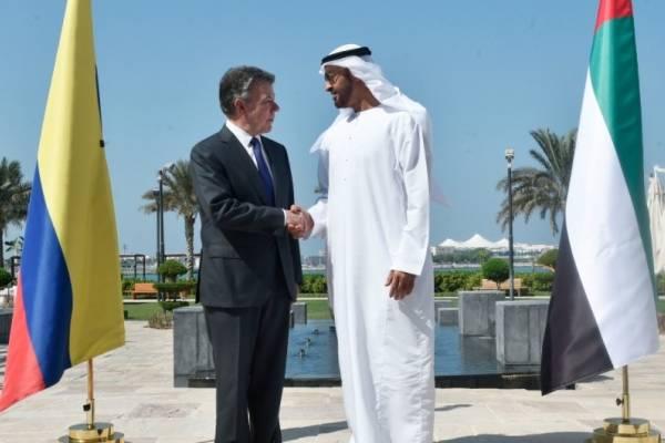 Juan Manuel Santos de Emiratos Árabes Unidos