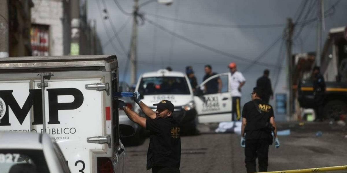 Piden carrera a taxista y lo asesinan en la zona 11