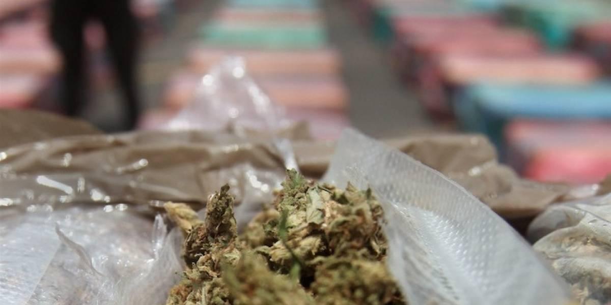 Incautan 245 kilos de cocaína y 90 de marihuana en el Caribe colombiano
