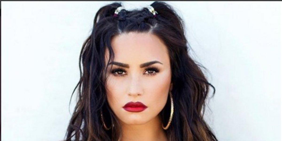 Demi Lovato no deja nada a la imaginación en los MTV EMA 2017