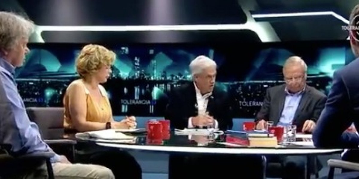 """Duro round entre Piñera y panelistas de Tolerancia Cero por """"empresas zombies"""""""