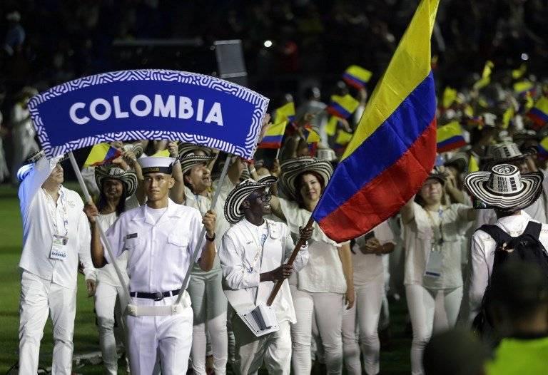 Delegación colombiana en los Juegos Bolivarianos 2017