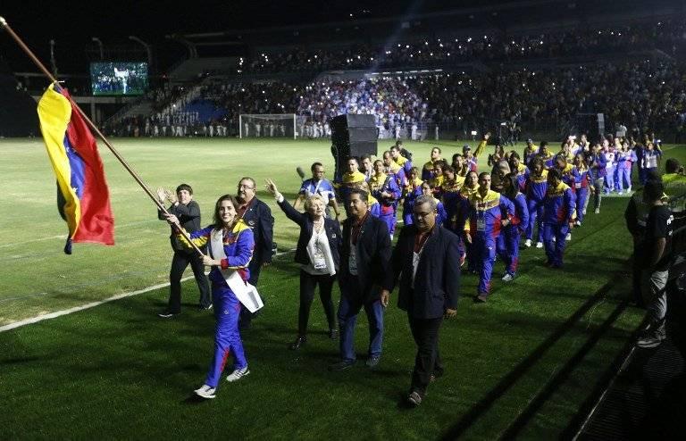 Delegación venezolana en los Juegos Bolivarianos 2017
