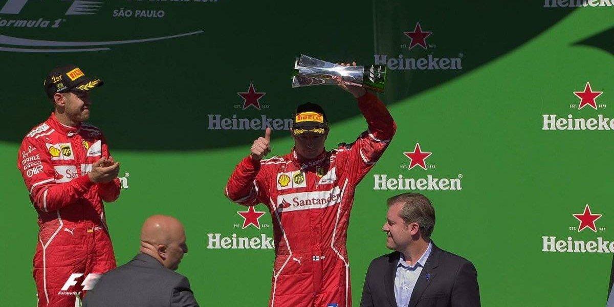 Vettel se coronó en Brasil y que quedó a un paso de quedar como subcampeón