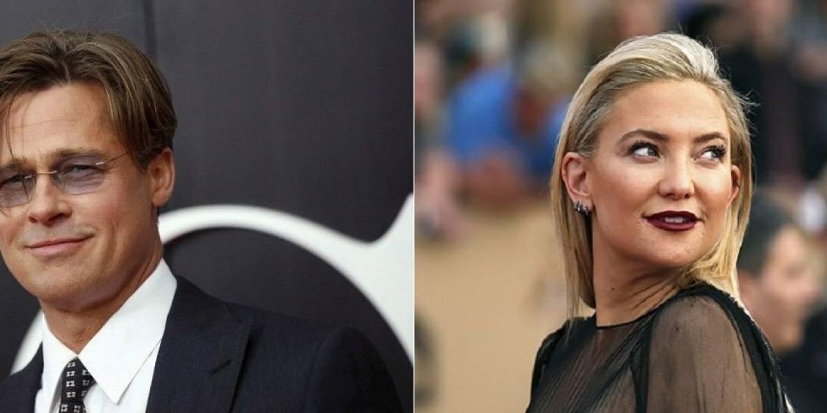 Kate Hudson desmente affair com Brad Pitt