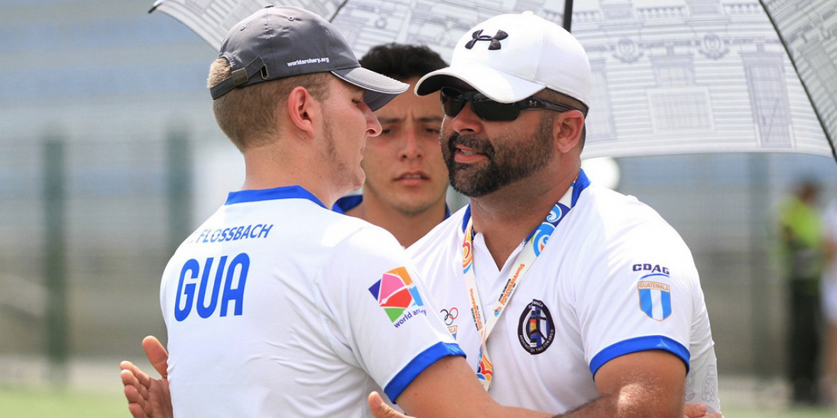 Thomas Flossbach acierta a la medalla de plata para Guatemala en los Bolivarianos