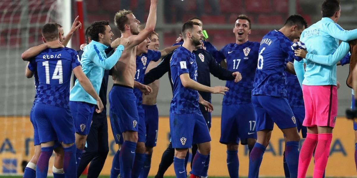 Croacia amarra su pase a Rusia 2018