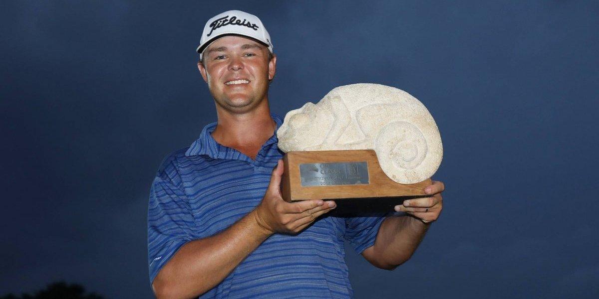 Kizzire obtiene su primer campeonato del PGA Tour en Mayakoba, México