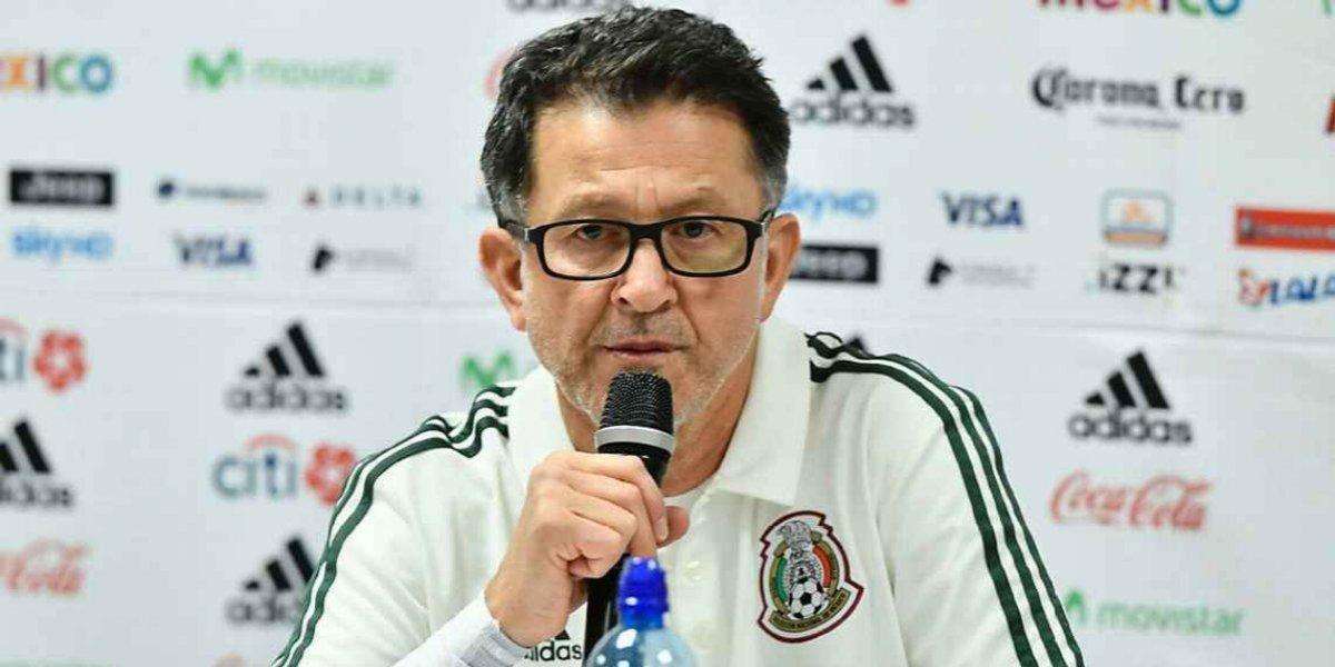 A Juan Carlos Osorio no le gusta descartar a jugadores y menos en amistosos