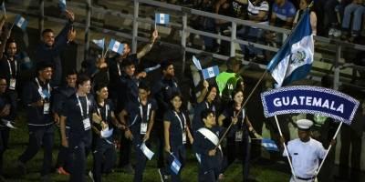 Delegación guatemalteca en los XVII Juegos Bolivarianos