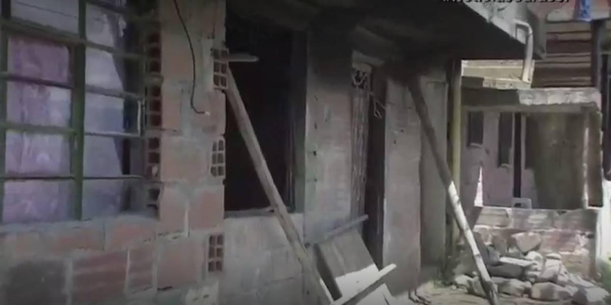 Se pasó de tragos, abrió la pipeta de gas e incendió su propia casa en Medellín