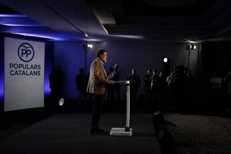 Mariano Rajoy en Barcelona