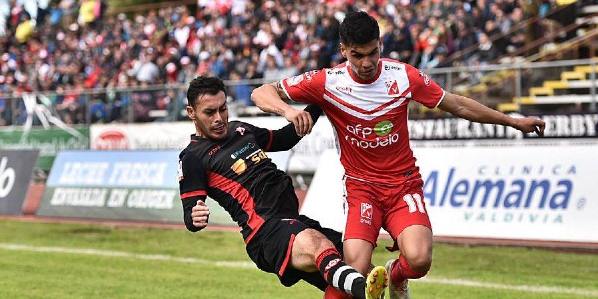 Valdivia se juega la permanencia en la Primera B ante La Serena