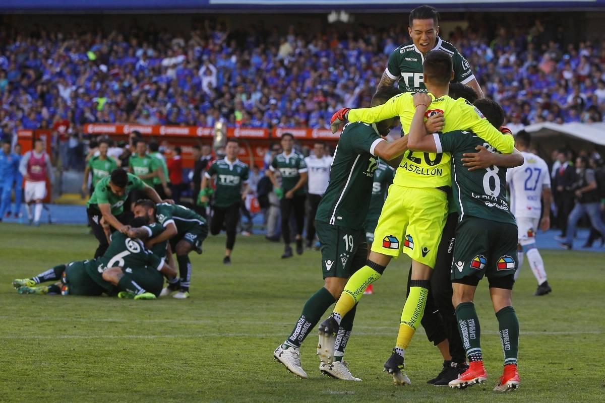 Castellón celebró su primer título en Wanderers