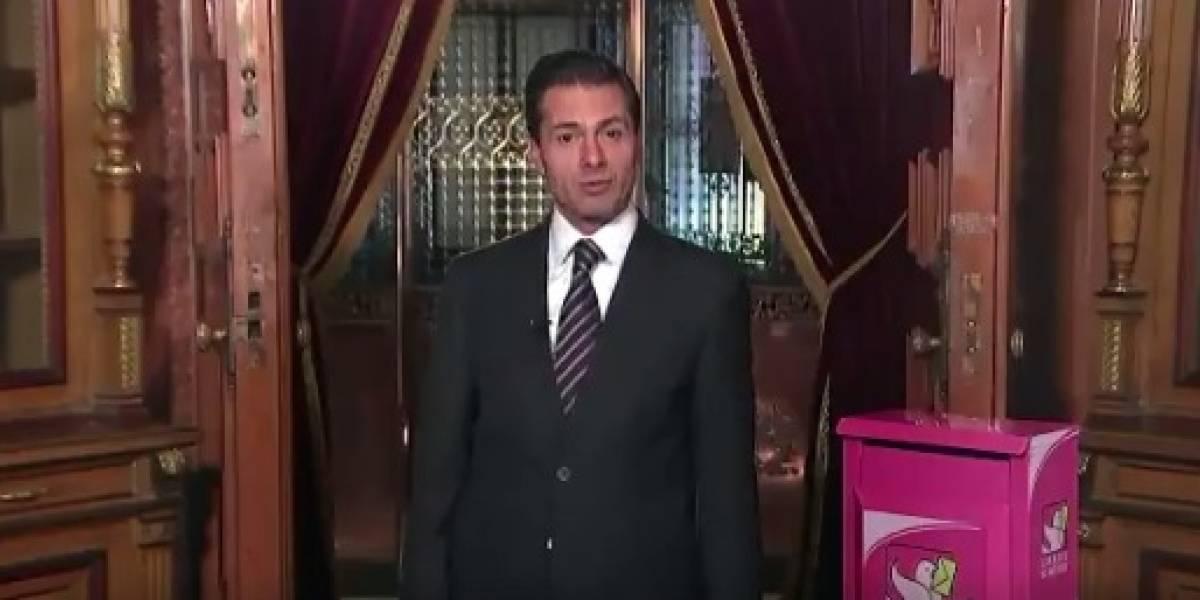 Peña Nieto celebra el Día del Cartero y destaca su labor tras los sismos