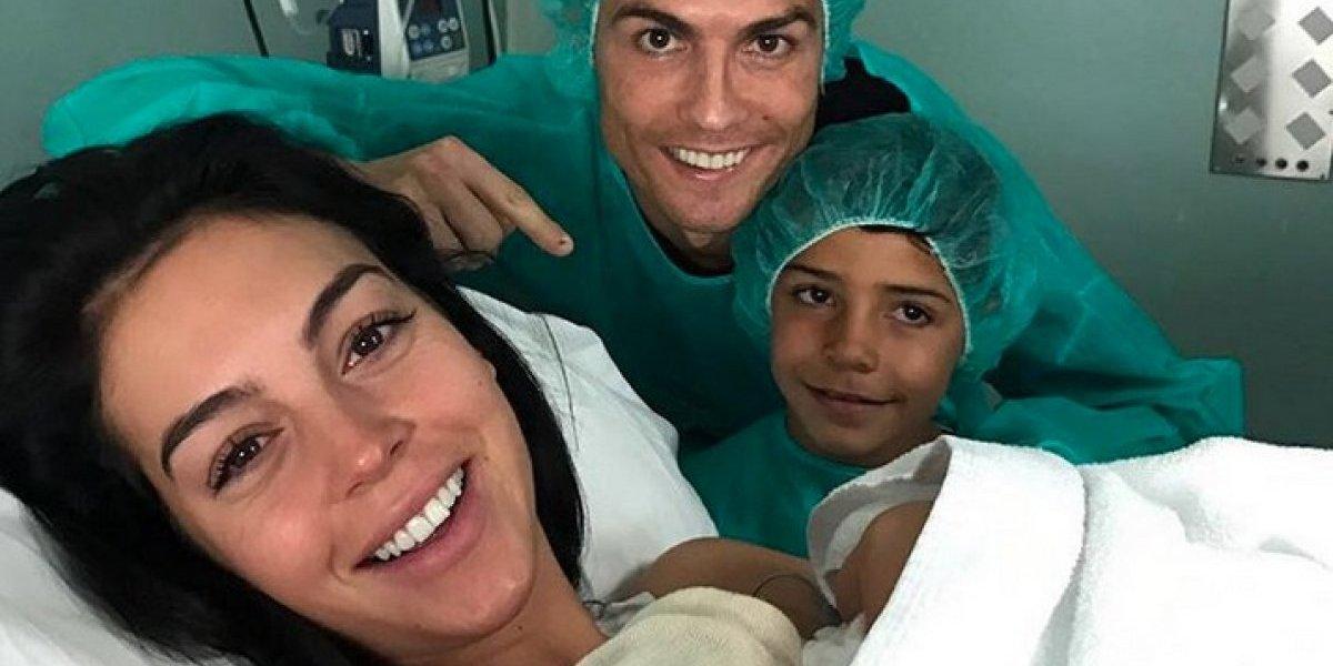 Nace bebé de Cristiano Ronaldo y Georgina Rodríguez