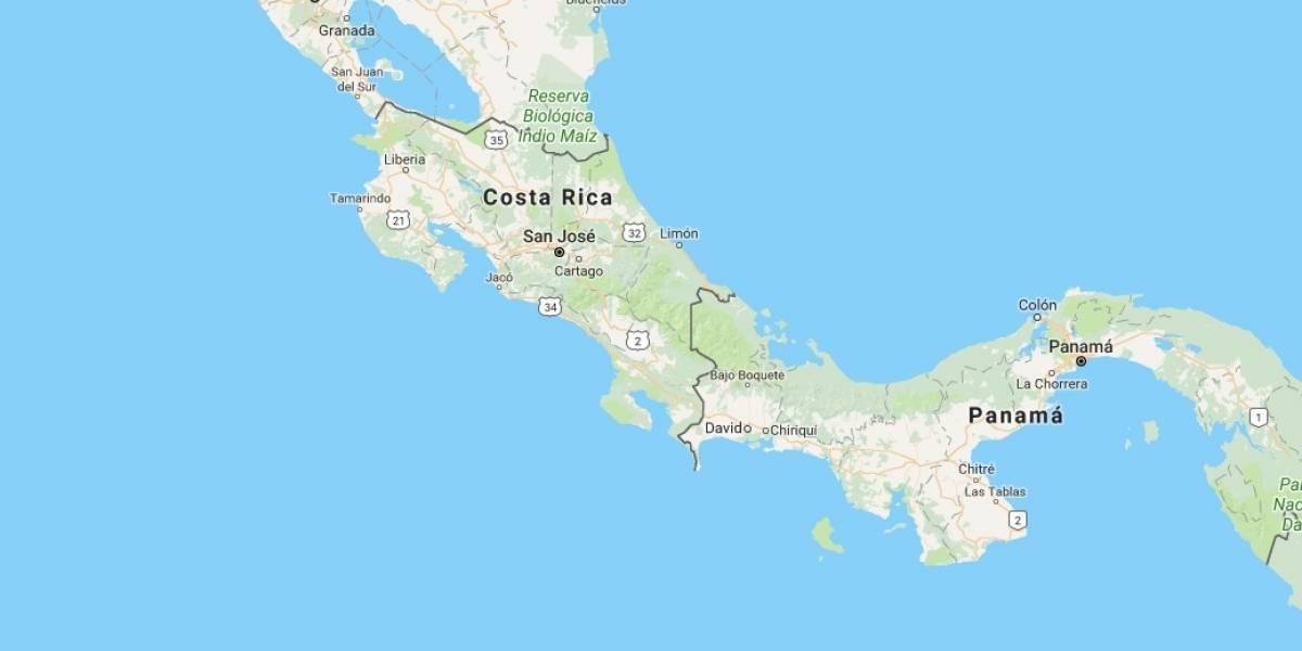 Tres fuertes sismos sacuden Costa Rica