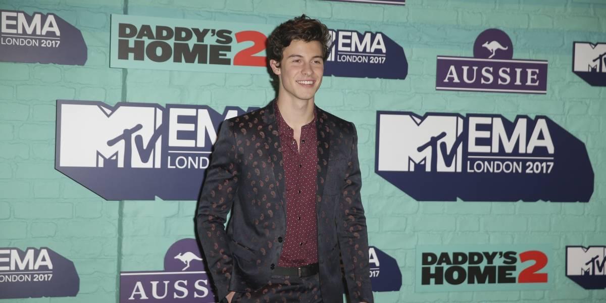 Shawn Mendes conquistó los MTV EMA 2017 llevándose tres premios