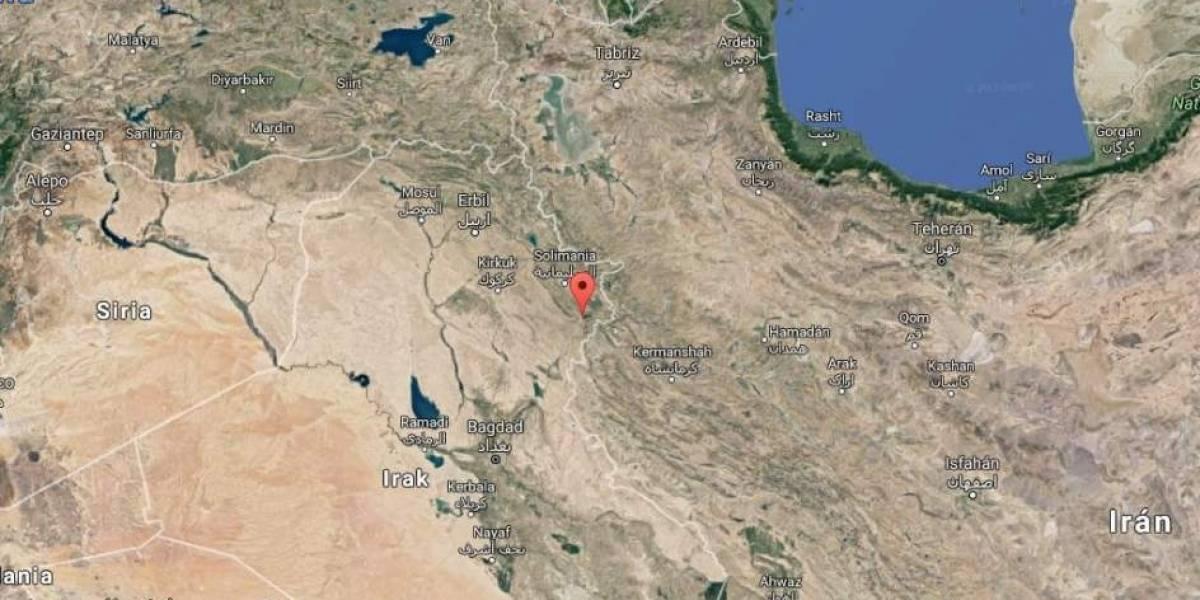 Al menos 61 muertos en Irán por terremoto de 7,3 grados en frontera con Irak