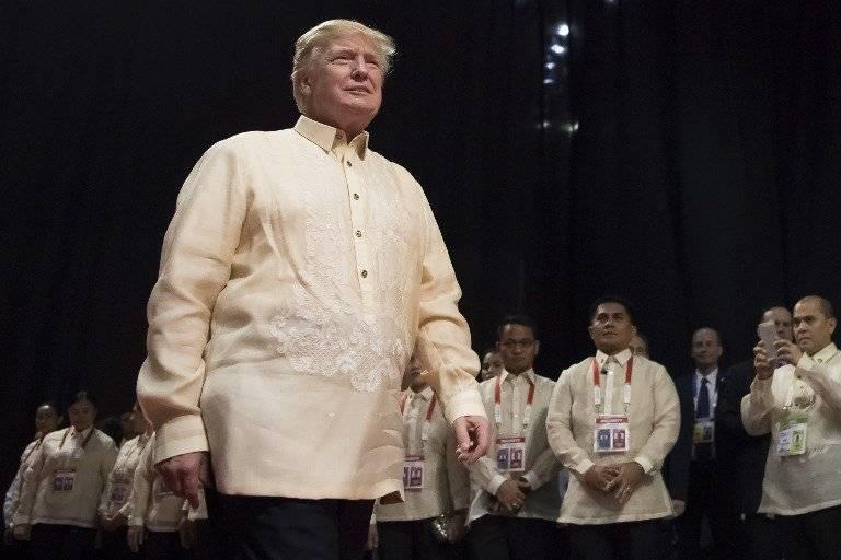 Donald Trump en Asia