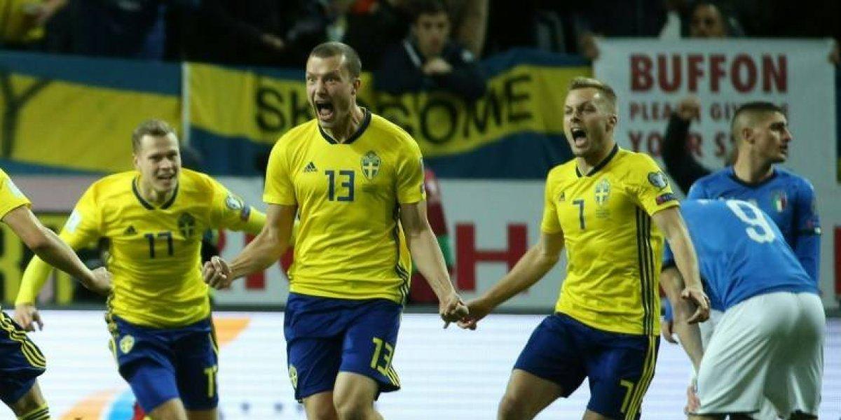 """¿Será una guerra? Goleador de Suecia """"calentó"""" partido decisivo contra Italia"""