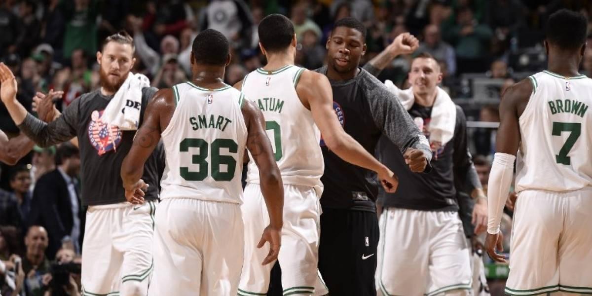 Boston Celtics es un tren sin frenos en la NBA: 12 triunfos seguidos y mejor marca de la liga