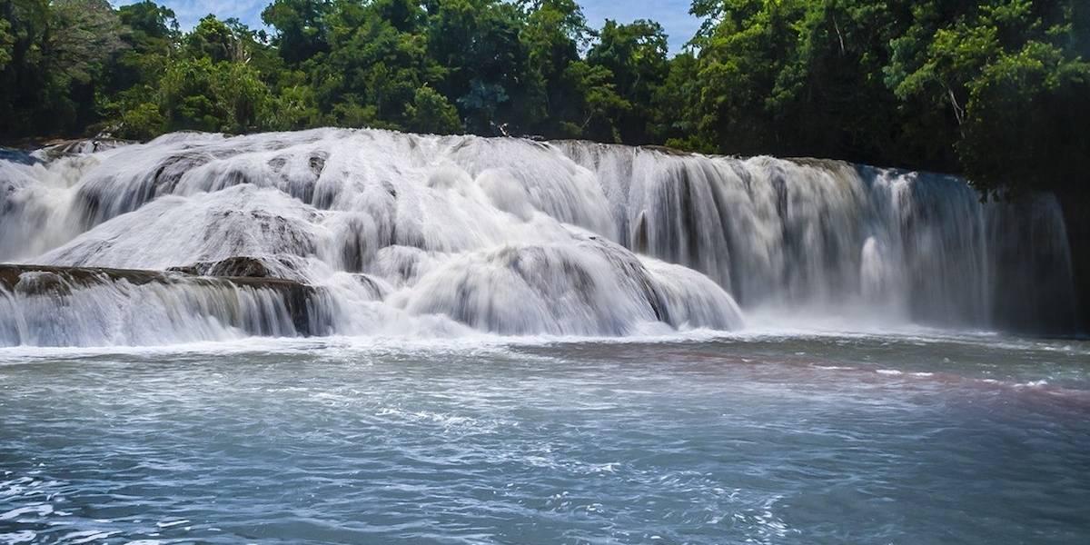 En riesgo ingresos de más de 2 mil familias por 'sequía' de las Cascadas de Agua Azul