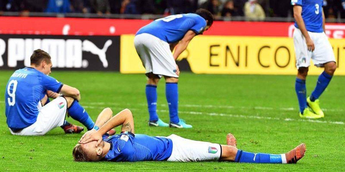 """""""Siamo fuori"""": el mundo quedó en shock tras la eliminación de Italia"""