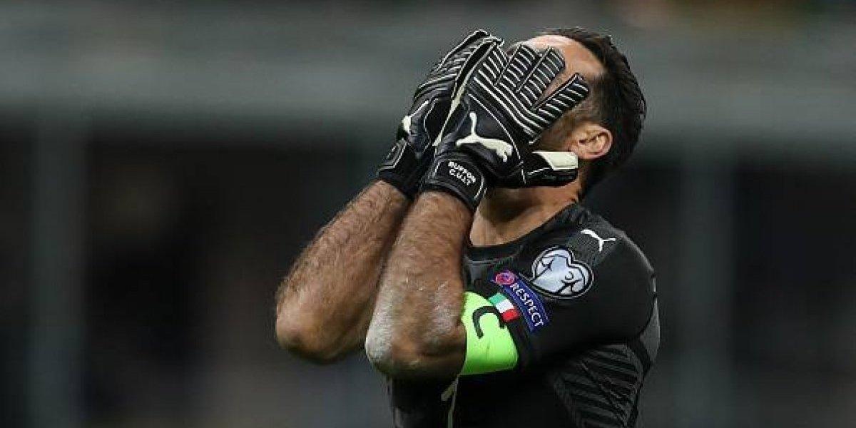 Buffon le dice adiós a la Selección de Italia