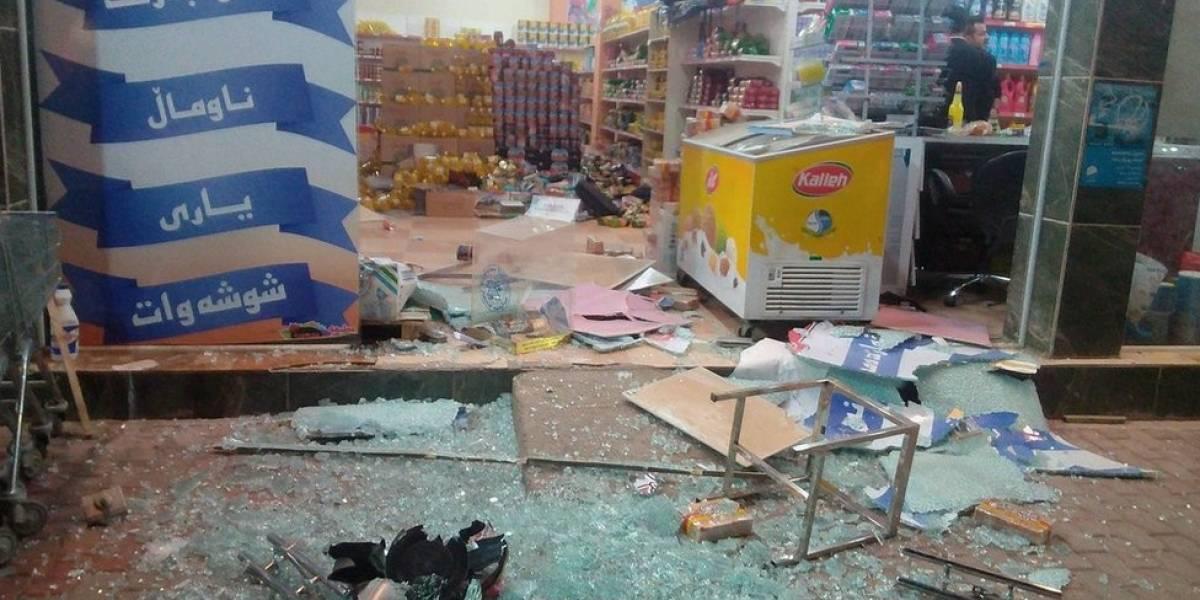 Fuerte terremoto de 7,3 sacude región fronteriza entre Irak e Irán y deja al menos 170 muertos