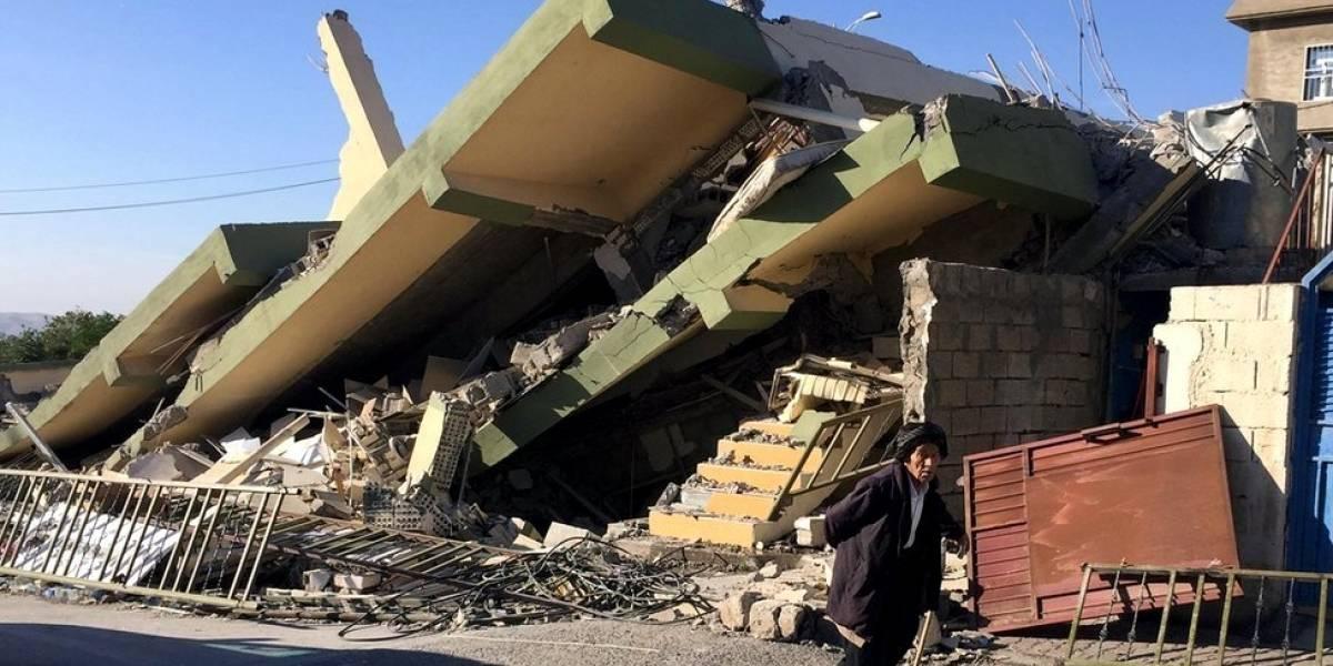 Imágenes de la destrucción y el dolor tras el devastador terremoto que sacudió la frontera entre Irak e Irán