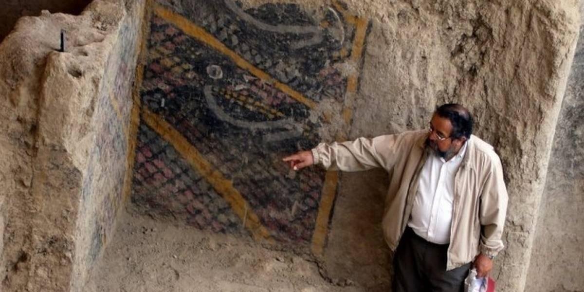 Un incendio en un sitio arqueológico de Perú destruye uno de los murales más antiguos de América Latina