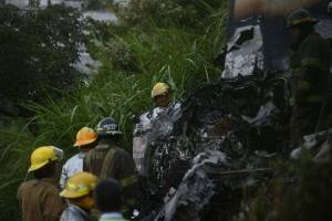 Accidente avioneta zona 13